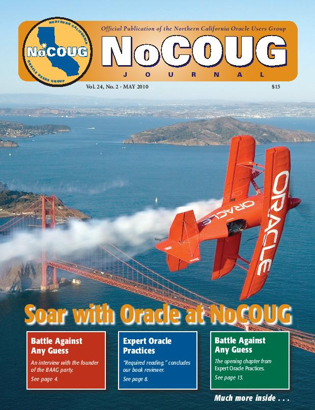 NoCOUG Journal 2010 05