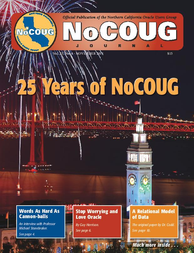 NoCOUG Journal 2011 11