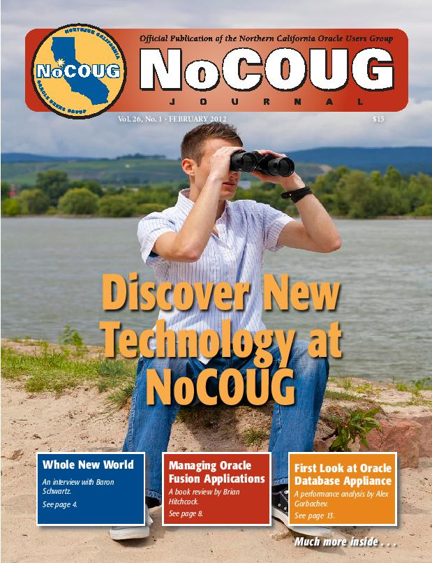 NoCOUG Journal 2012 02