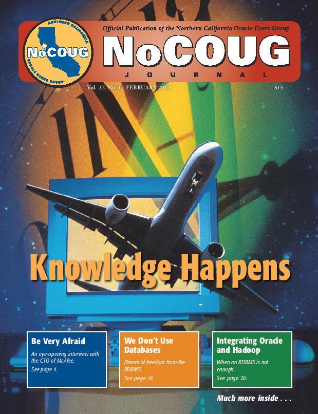 NoCOUG Journal 2013 02