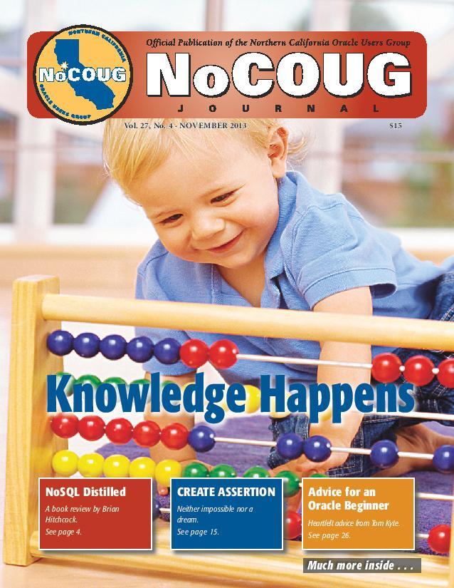 NoCOUG Journal 2013 11