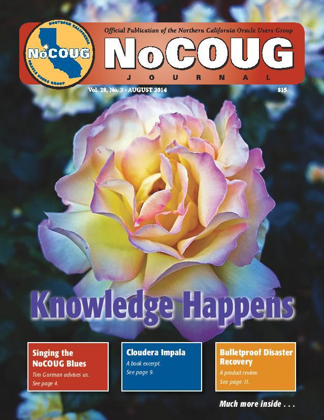 NoCOUG Journal 2014 08