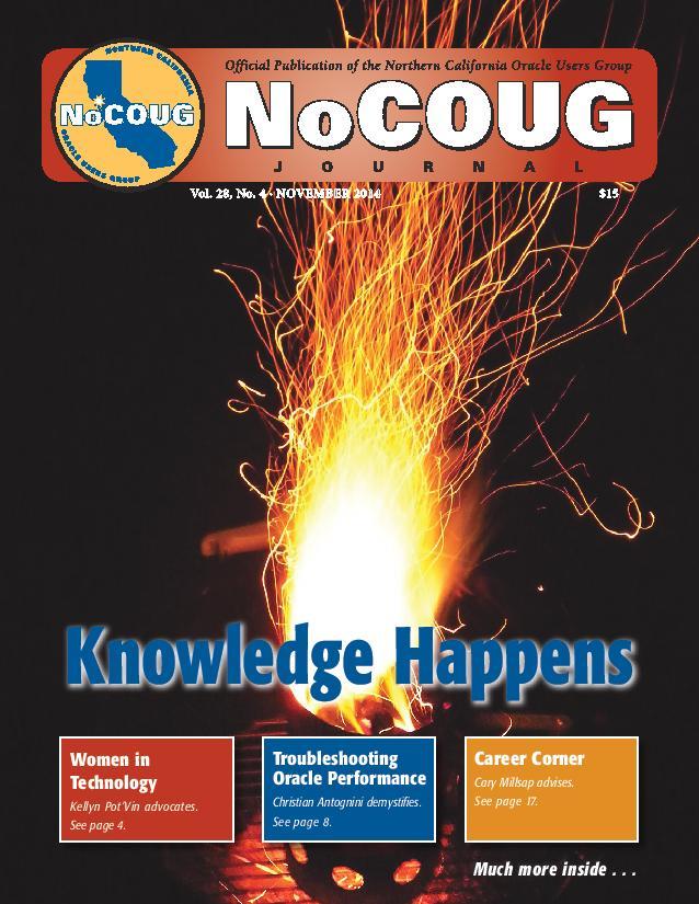 NoCOUG Journal 2014 11