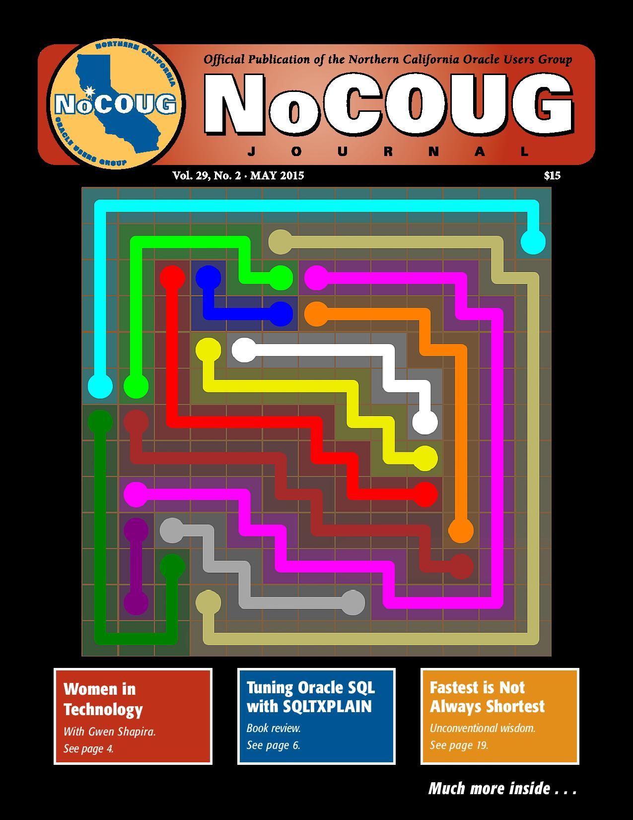 NoCOUG Journal 2015 05