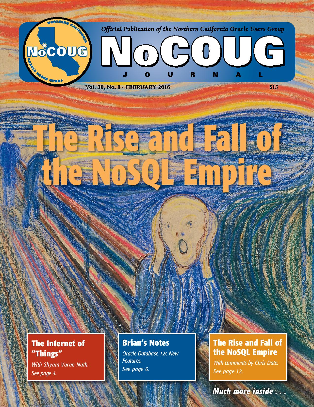 NoCOUG Journal 2016 02